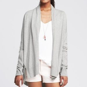 Banana Republic Pima Cotton Cashmere Open Cardigan